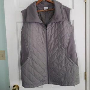 Gray Columbia vest